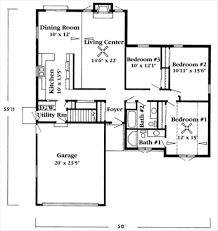 adhouse plans uncategorized 1 story ranch style house plan sensational for