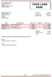 invoice example doc invoice u003cbu003etemplatesu003c bu003e