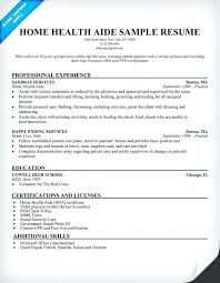 aide resume home care aide resume sle exles to stand wondrous home
