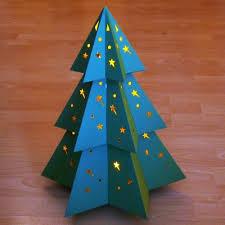 papercraft hexagrammic christmas tree tektonten papercraft