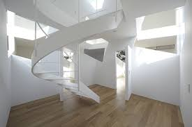 stair fancy space saving spiral staircase design ideas with