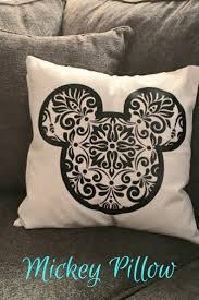 Mickey Home Decor Disney Inspired Mickey Mouse Pillow Cover Disney Home Decor