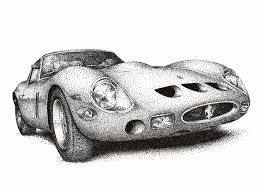 car ferrari drawing ferrari 250 gto by medvezh on deviantart
