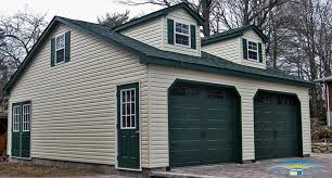 2 car garages built on site 2 car garages horizon structures save money on your custom built 2 car garage