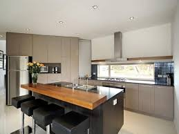 kitchen with island and breakfast bar kitchen design ideas breakfast bars island kitchen and granite