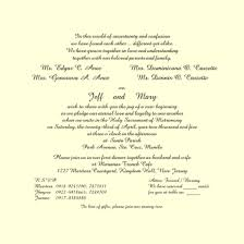 Wedding Invitations In Spanish Wedding Invitation Text Samples