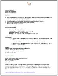 Best Resume For Mechanical Engineer Fresher by Professional Curriculum Vitae Sample Template Of A Fresher