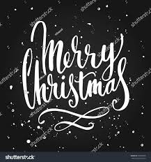 merry christmas modern merry christmas hand drawing lettering modern stock vector