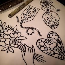 traditional tattoo flash myra oh florida traditional tattoos