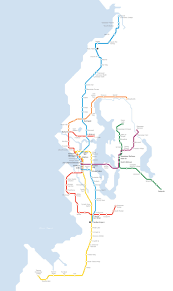 Seattle Link Rail Map Spotted Light Rail Progress Real Estate Galsreal Estate Gals