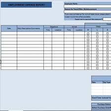 Detailed Expense Report Template by Free Data Collection Templates On Excel Detailed Travel Expense Form