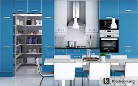Blue Kitchen Paint Kitchen Decorating Peacock Blue Kitchen Cabinets Sky Blue