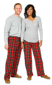 Christmas Plaid Unisex Pant  Snug As A Bug