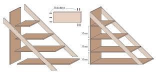 schrank unter treppe schrank unter offener treppe selber bauen top selber bauen mit