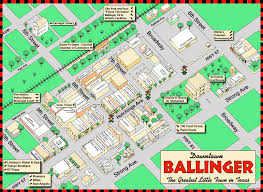 City Map City Maps Welcome To Ballinger