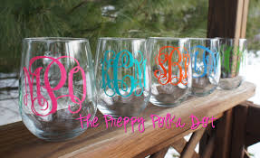 wine glass with initials home accessories monogrammed wine glasses monogramed wine
