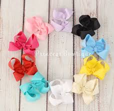 toddler hair bows basic premium toddler hair bows princess bowtique