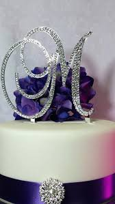 z cake toppers monogrammed cake toppers peukle site