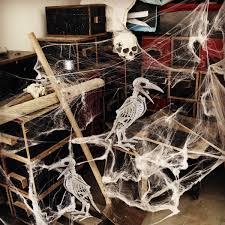 Skeleton Decoration Halloween Crazy Bone Skeleton Raven 100 Plastic Animal Skeleton Bones