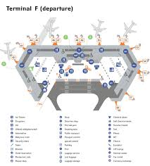 Map Of Miami International Airport by Sheremetyevo Aeroflot
