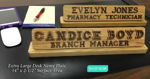 Cheap Desk Name Plates Name Plates To Make Any Office Unique Desk Door Or Wall Name Plates