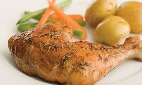 cuisiner cuisse de poulet cuisses de poulet au thym et à l érable le poulet du québec
