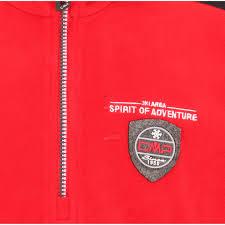 cmp light fleece sweat boys ferrari red skiwebshop com