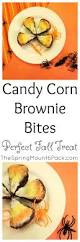 candy corn brownie bites the spring mount 6 pack