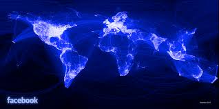 Map The World by Using Facebook Connections To Map The World