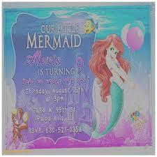 birthday cards luxury the little mermaid birthday card the