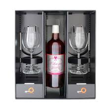 wine sets personalised wine gift set by sassy bloom as seen on tv