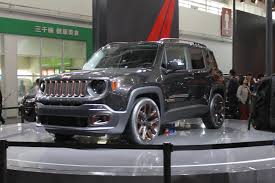 dark brown jeep jeep unveils chinese inspired renegade apollo concept at the