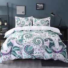 aliexpress com buy beddingoutlet green paisley bedding set