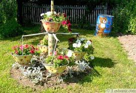 Summer Backyard Ideas 22 Unusual Containers With Flowers To Add Fun To Summer Backyard