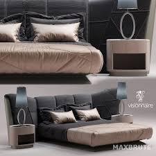 bed and living thư viện 3dsmax thu vien max giường ngủ bed maxbrute pro 03