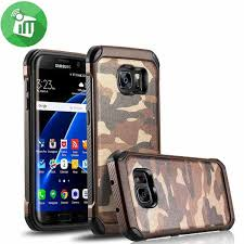 camouflage shockproof armor back cover for samsung galaxy s7
