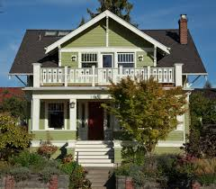 craftsman house exterior with patio furniture numbers