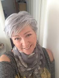 gray hair can be elegant and edgy http potionsandnotions