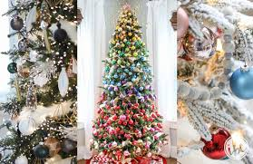 10 ideas for beautiful and festive tree decorations