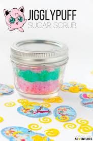 sleepy time jigglypuff pokemon sugar scrub