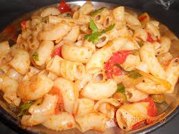 how to cook macaroni tomato indian pasta style in telugu youtube