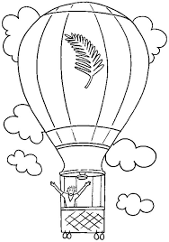 balloon coloring pages feeling free when i on air balloon coloring pages bulk color