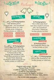 wedding photographer prices kenneth uy promo packages philippines philippines wedding