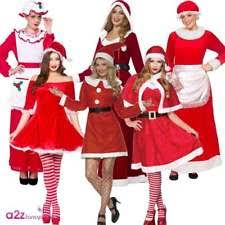 mrs claus costumes mrs claus costume christmas fancy dress ebay