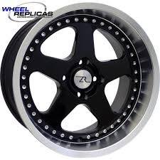 Black Mustang Wheels Wheel Replicas 1979 1993 Mustang Wheels