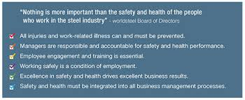 safety and health worldsteel