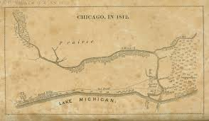 Map Chicago by Mapping Chicago And The Midwest 1688 U20131906 Digital Collections