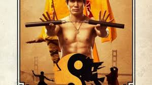 a that pits bruce steve mcqueen and a shaolin monk