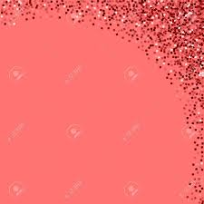 right top corner red gold glitter abstract right top corner with red gold glitter