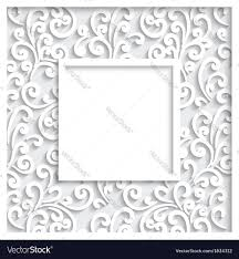 decorative paper decorative paper frame royalty free vector image